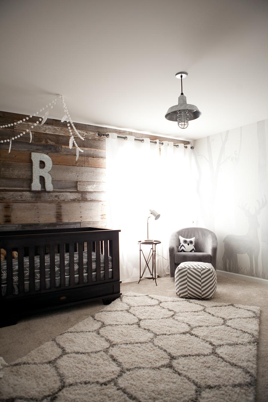Ryder S Modern Rustic Outdoor Inspired Nursery Project