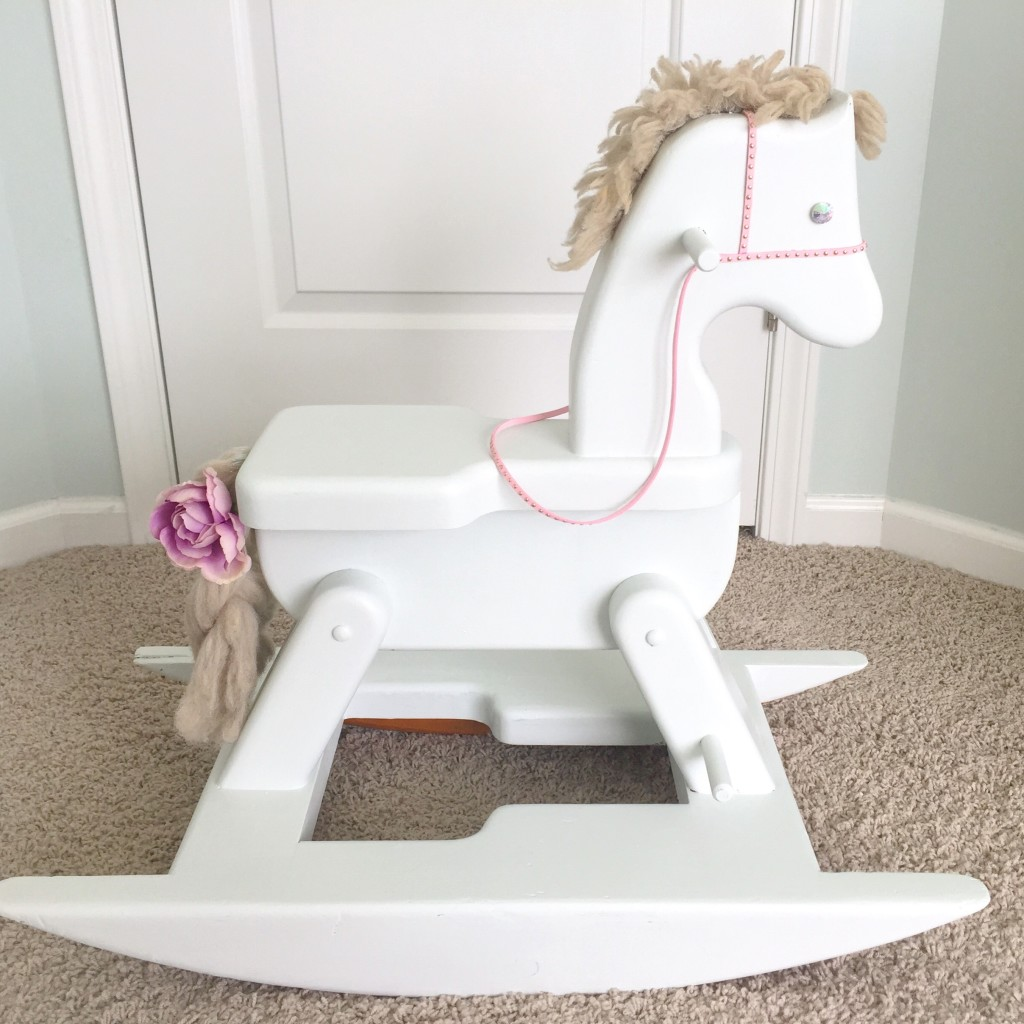 Refinished Rocking Horse