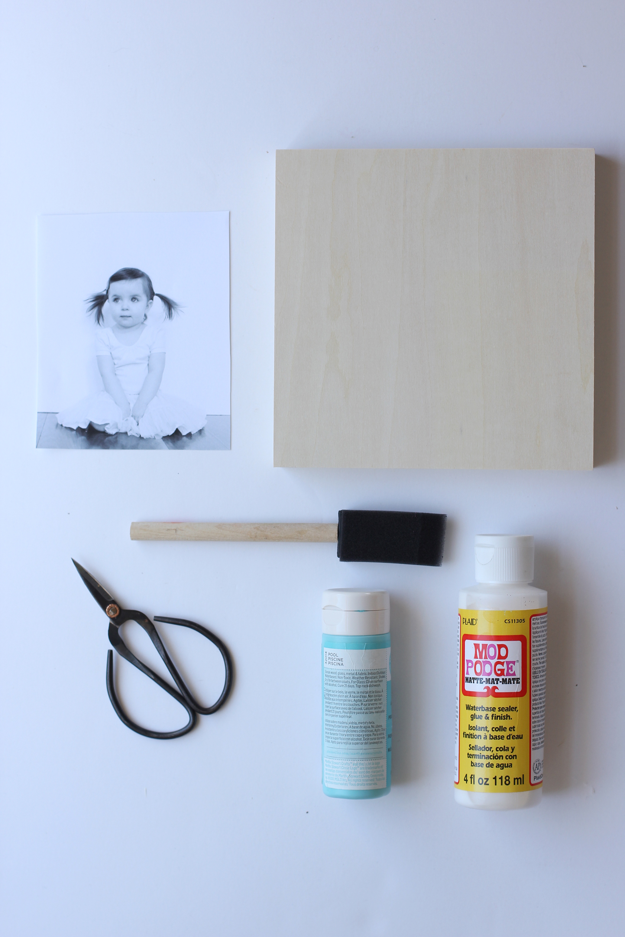 DIY Modern Photo Wall Art Supplies
