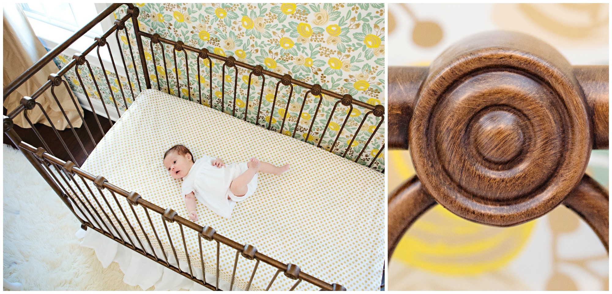 Bratt Decor Joy Iron Crib - Project Nursery