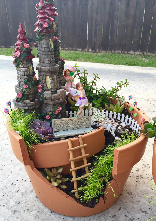 DIY Make Your Own Fairy Garden Project Nursery