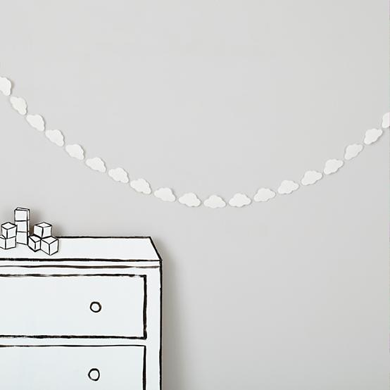 Cloud Garland from The Land of Nod