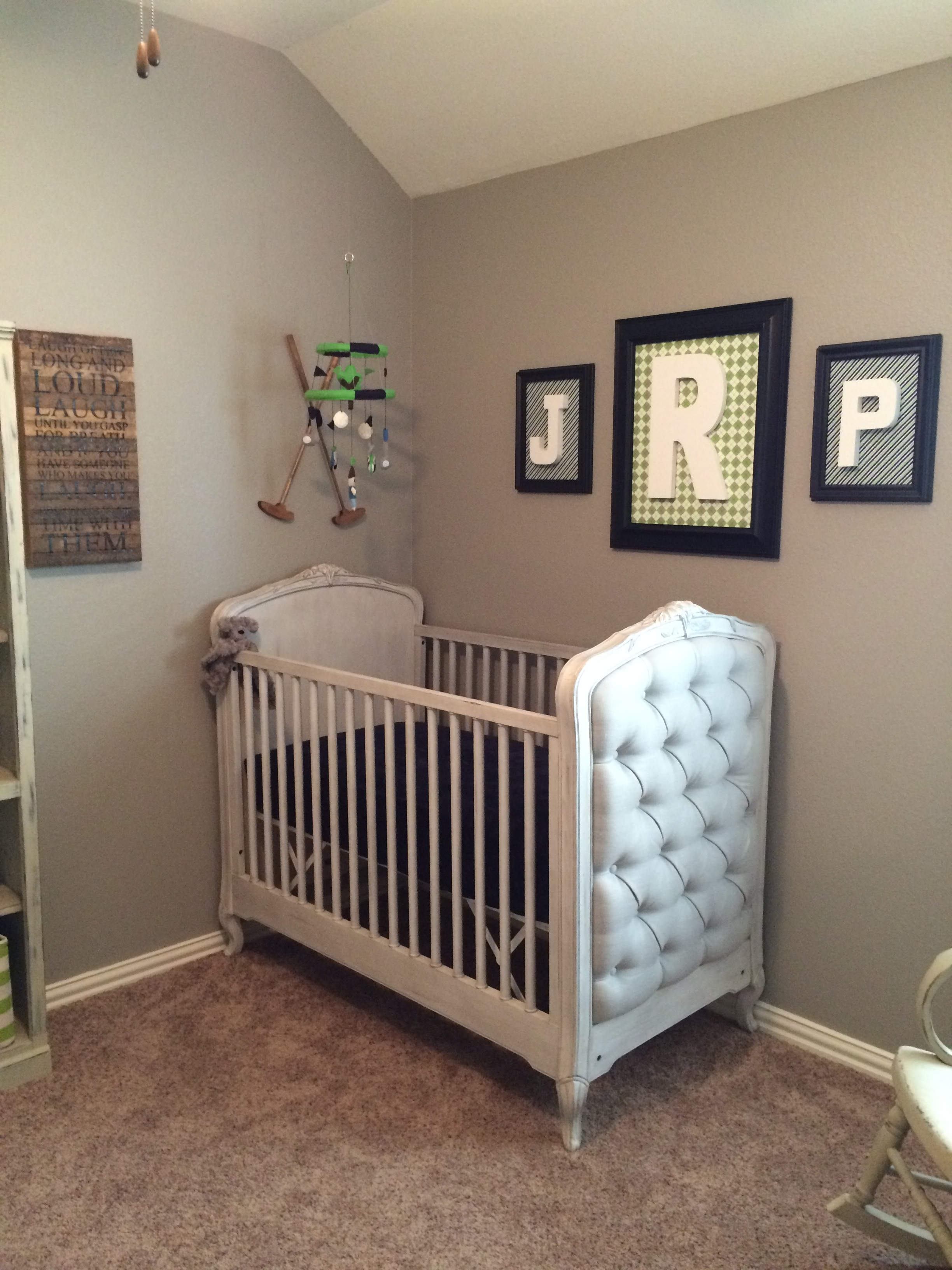 Golf theme nursery project nursery - Baby rooms idees ...