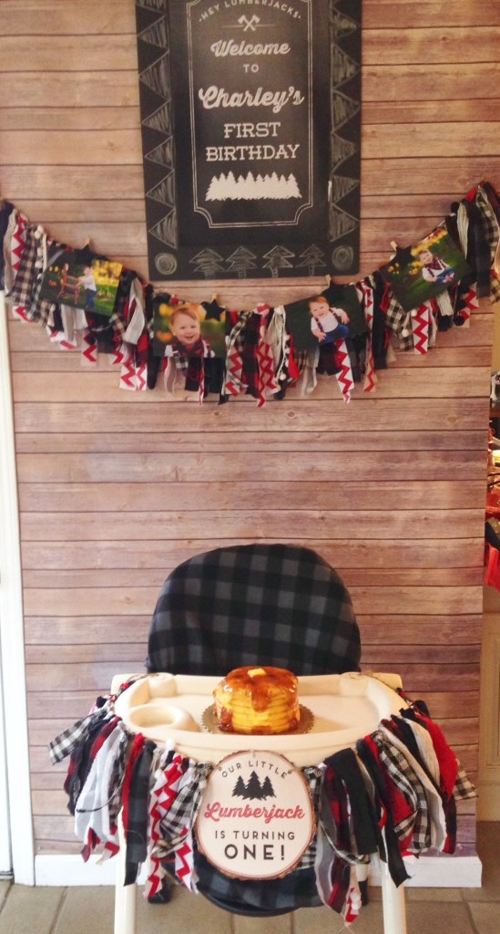 Charley S Lumberjack Birthday Bash Project Nursery