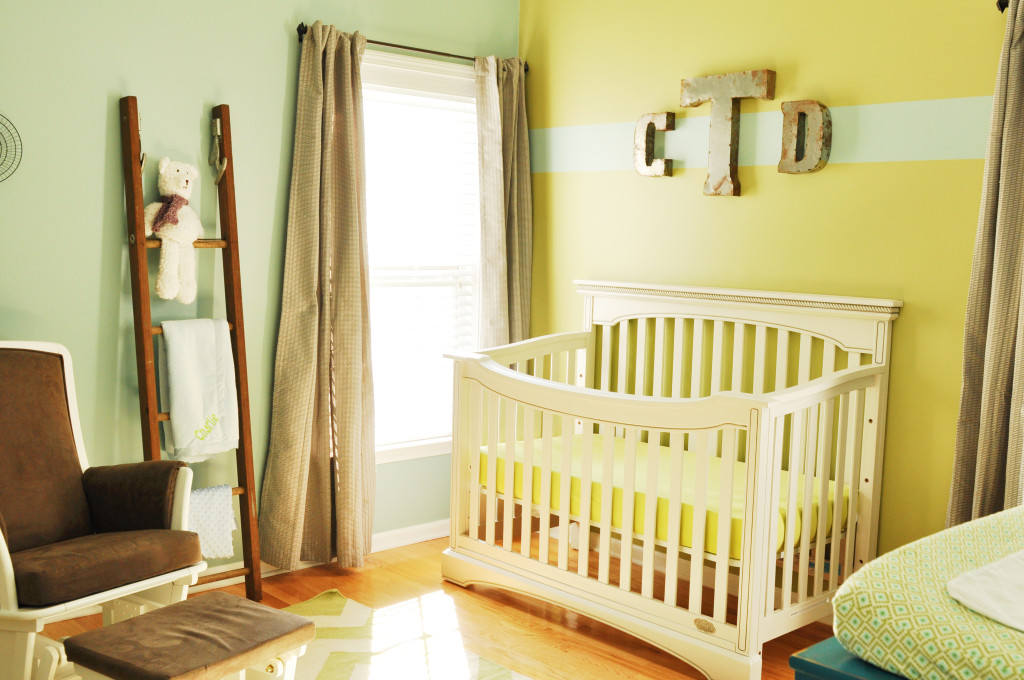 Yellow and Mint Nursery - Project Nursery