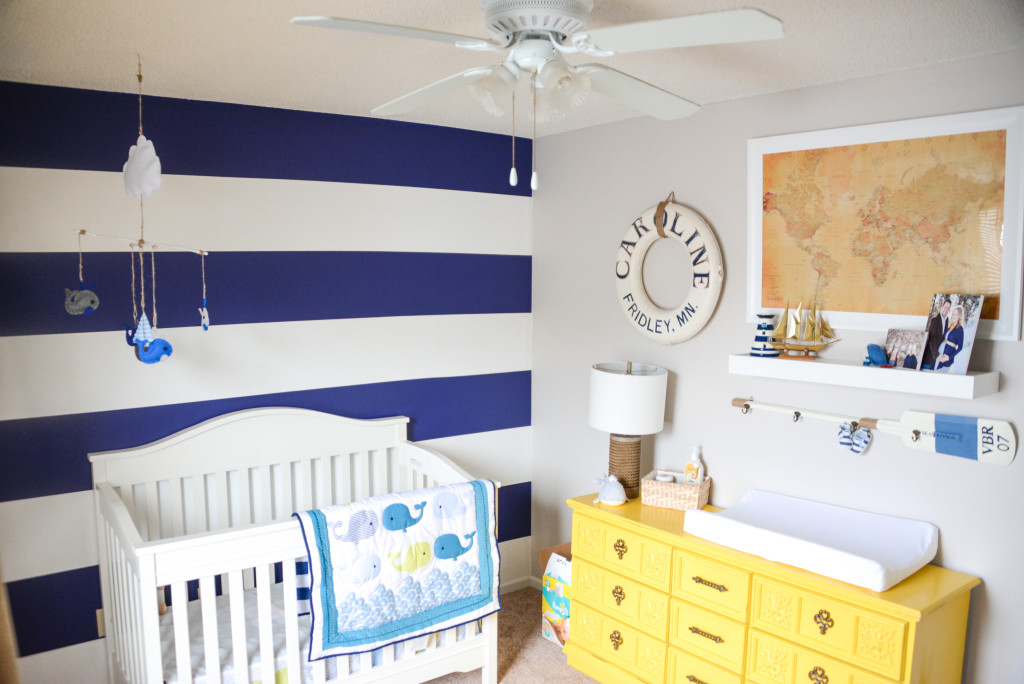 Blue and Yellow Nautical Nursery - Project Nursery