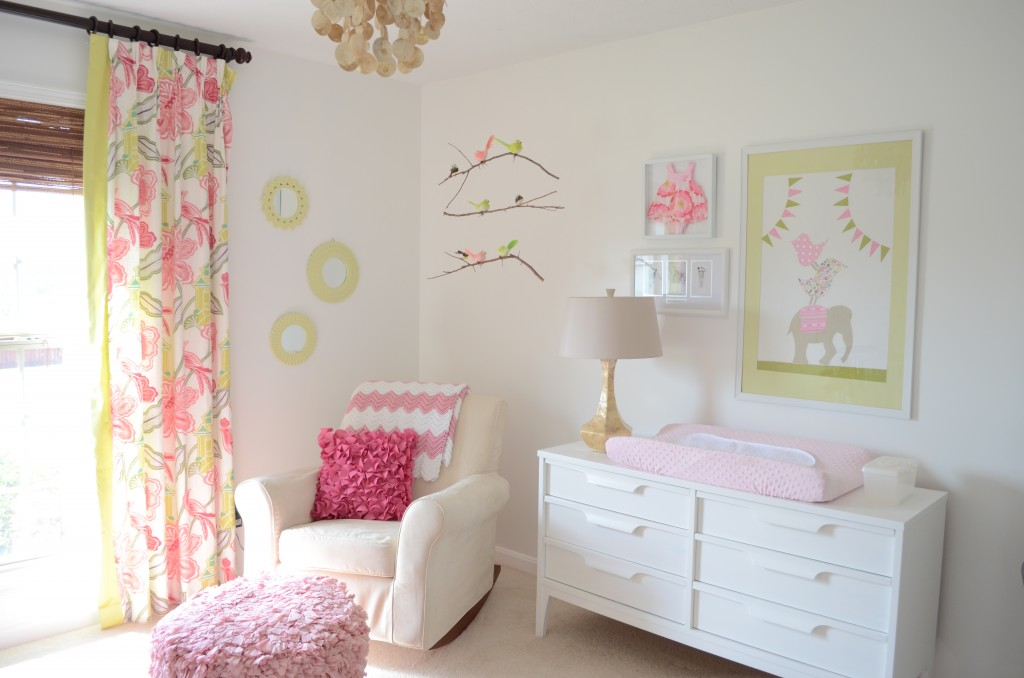 Pink and Green Nursery - Project Nursery