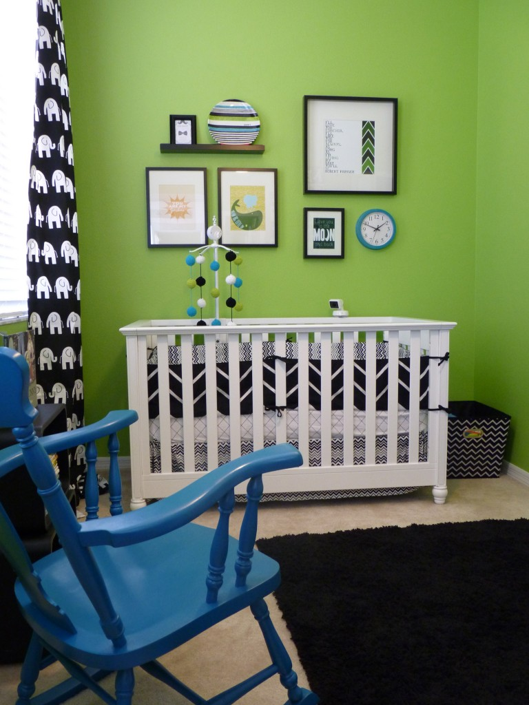 Green and Black Nursery - Project Nursery