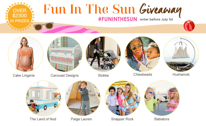 Fun in the Sun Summer Giveaway - Project Nursery