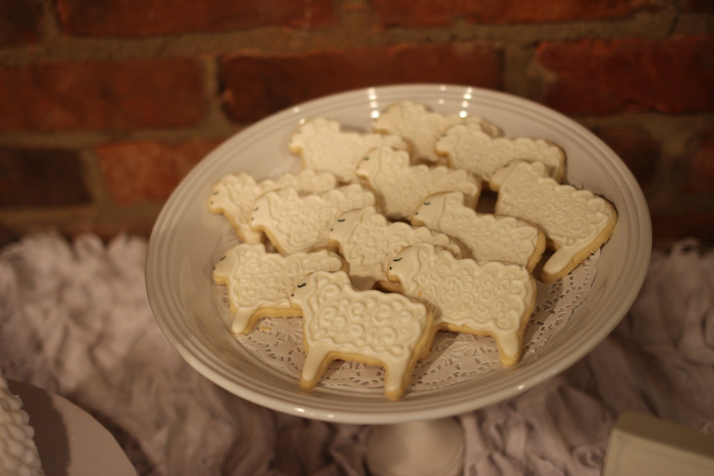 Sheep cookies