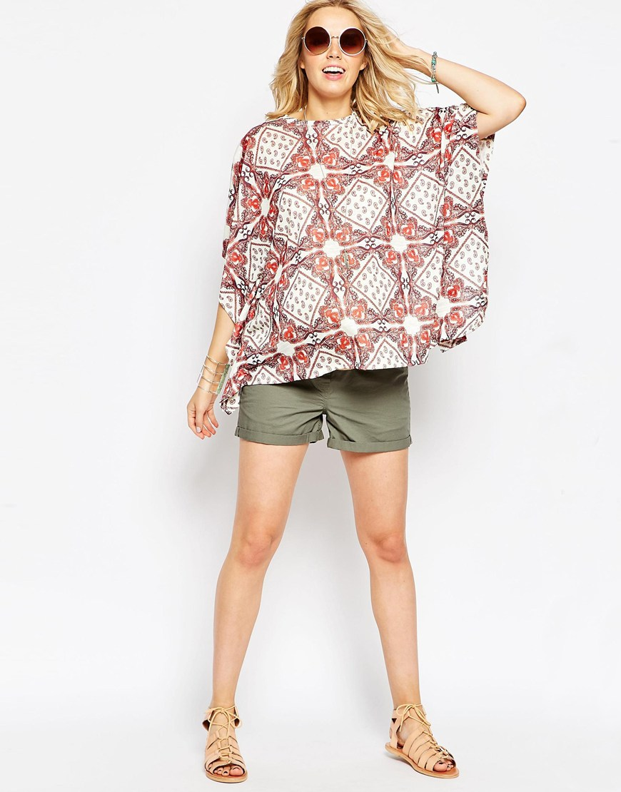 Maternity Gypsy Poncho Top from ASOS