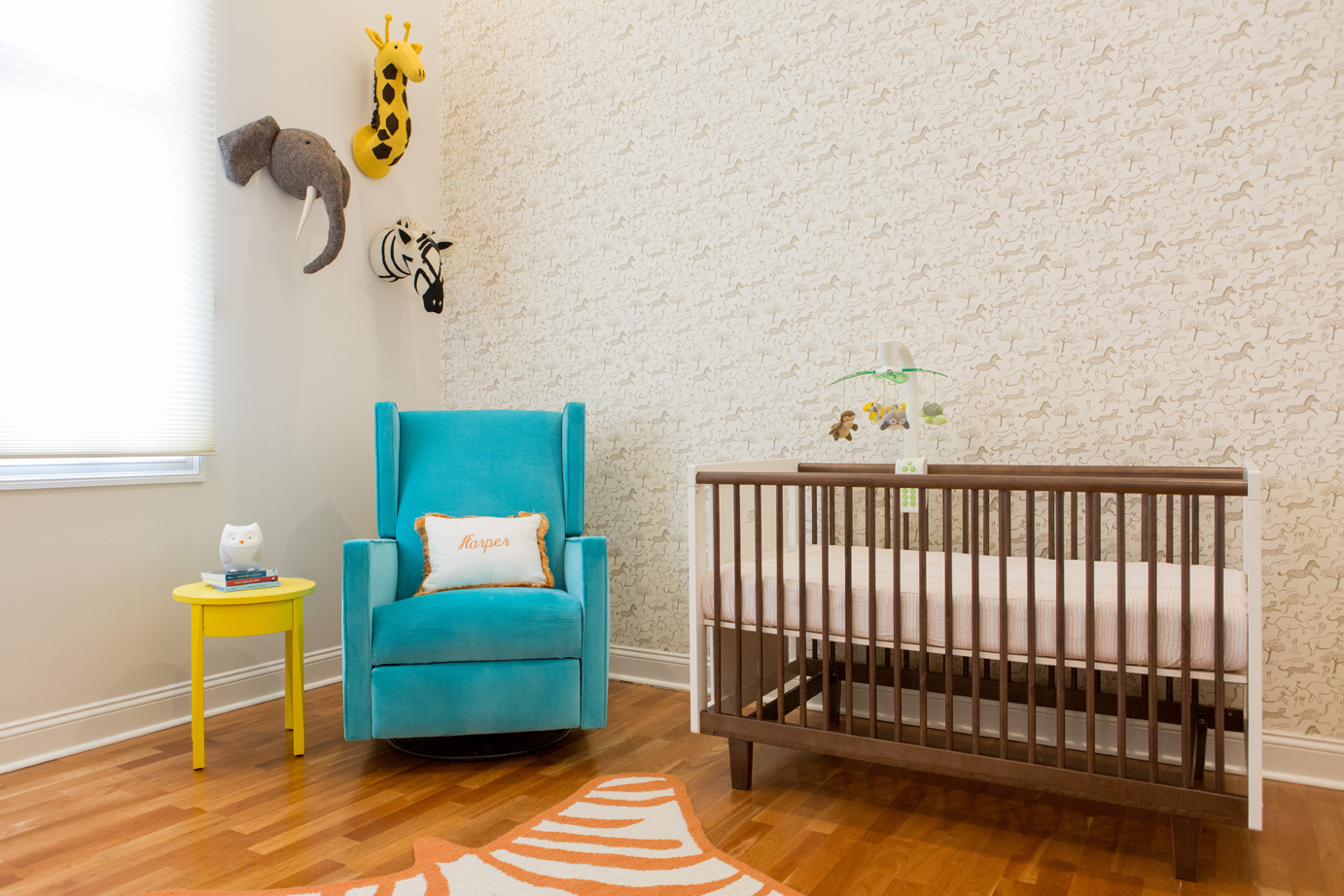 Gender Neutral Safari-Inspired Nursery