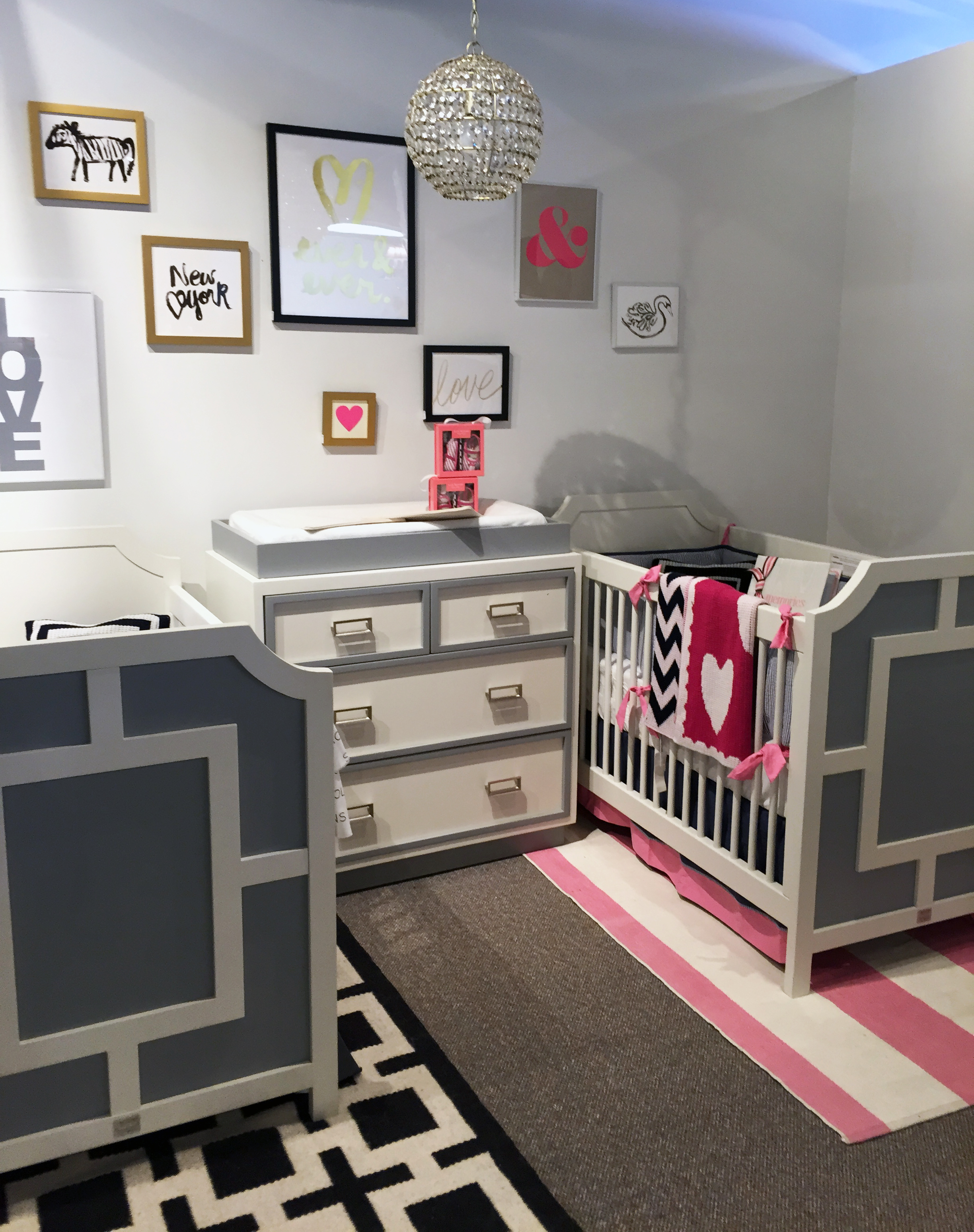Twin Nursery Design at Bellini