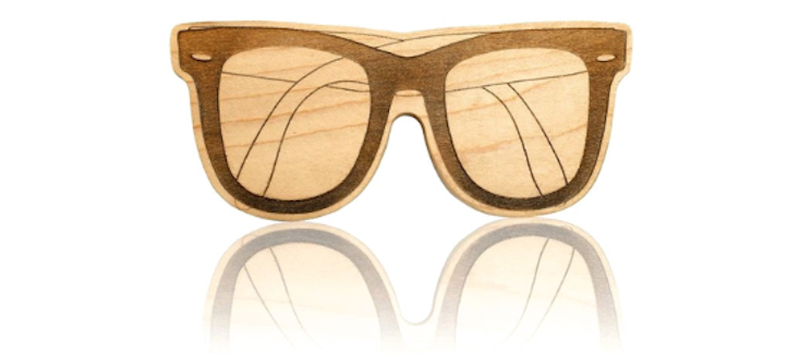 Sunglasses Wooden Teether from The Project Nursery Shop