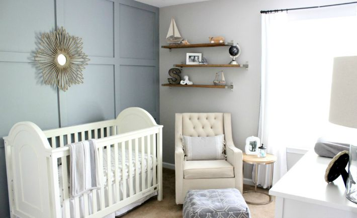 Gender Neutral Nautical-Inspired Nursery - Project Nursery