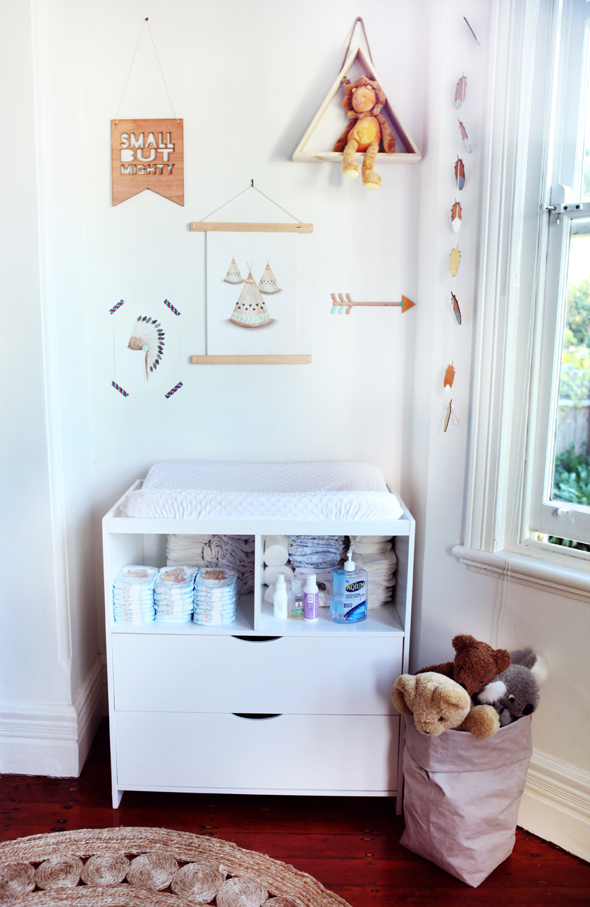 Light and Natural Nursery Decor