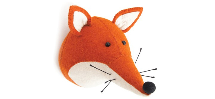 Fox Head Wall Decor from Layla Grayce