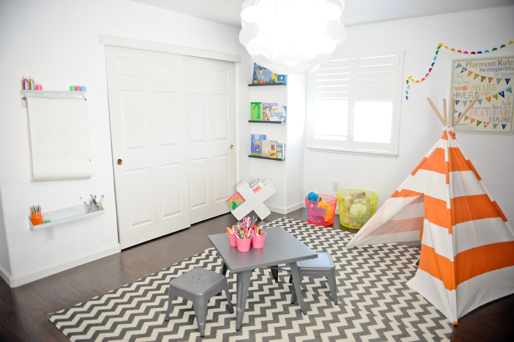 Playroom with Teepee - Project Nursery