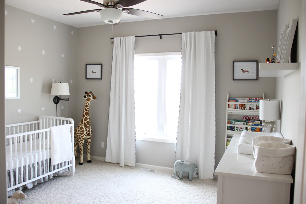 Gender Neutral Zoo Themed Nursery - Project Nursery