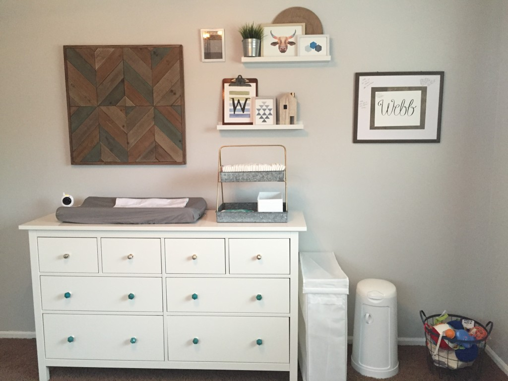 Dresser and Changing Area