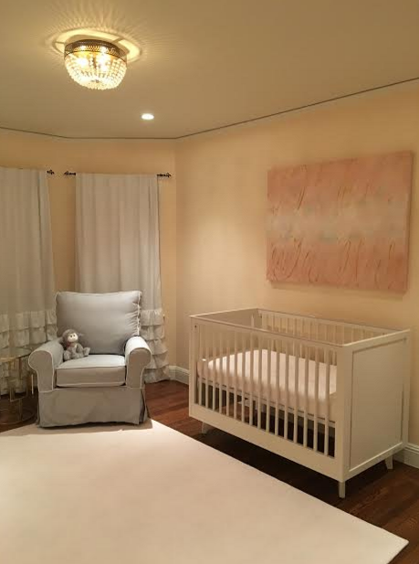 Pink and Gold Nursery
