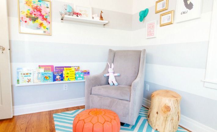 Nursery Reading Nook - Project Nursery