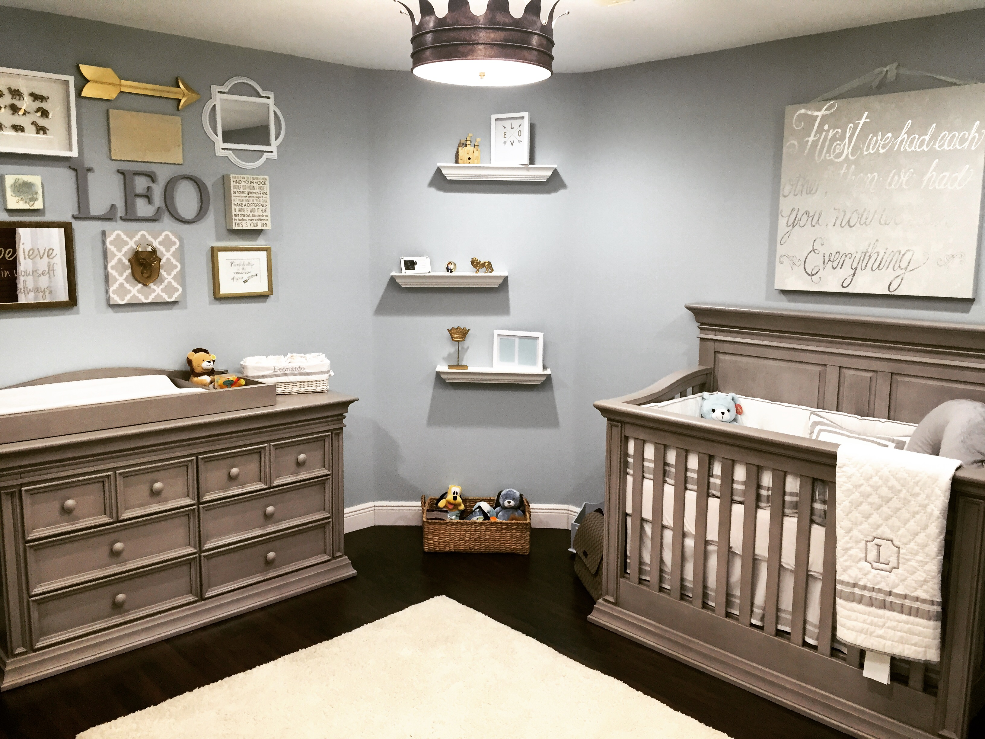 Little Leo's Nursery Fit For A King