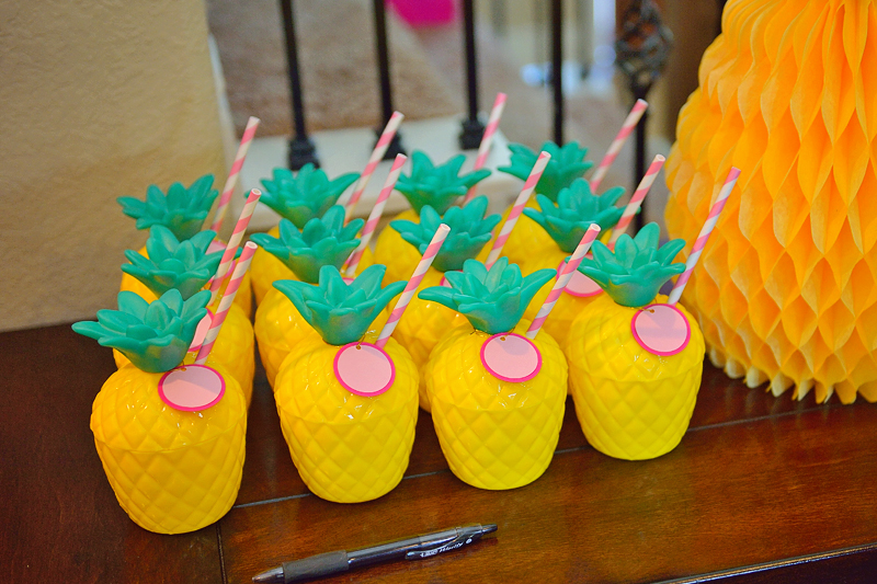 A Pineapple Party For Lucy S 1st Birthday Project Nursery