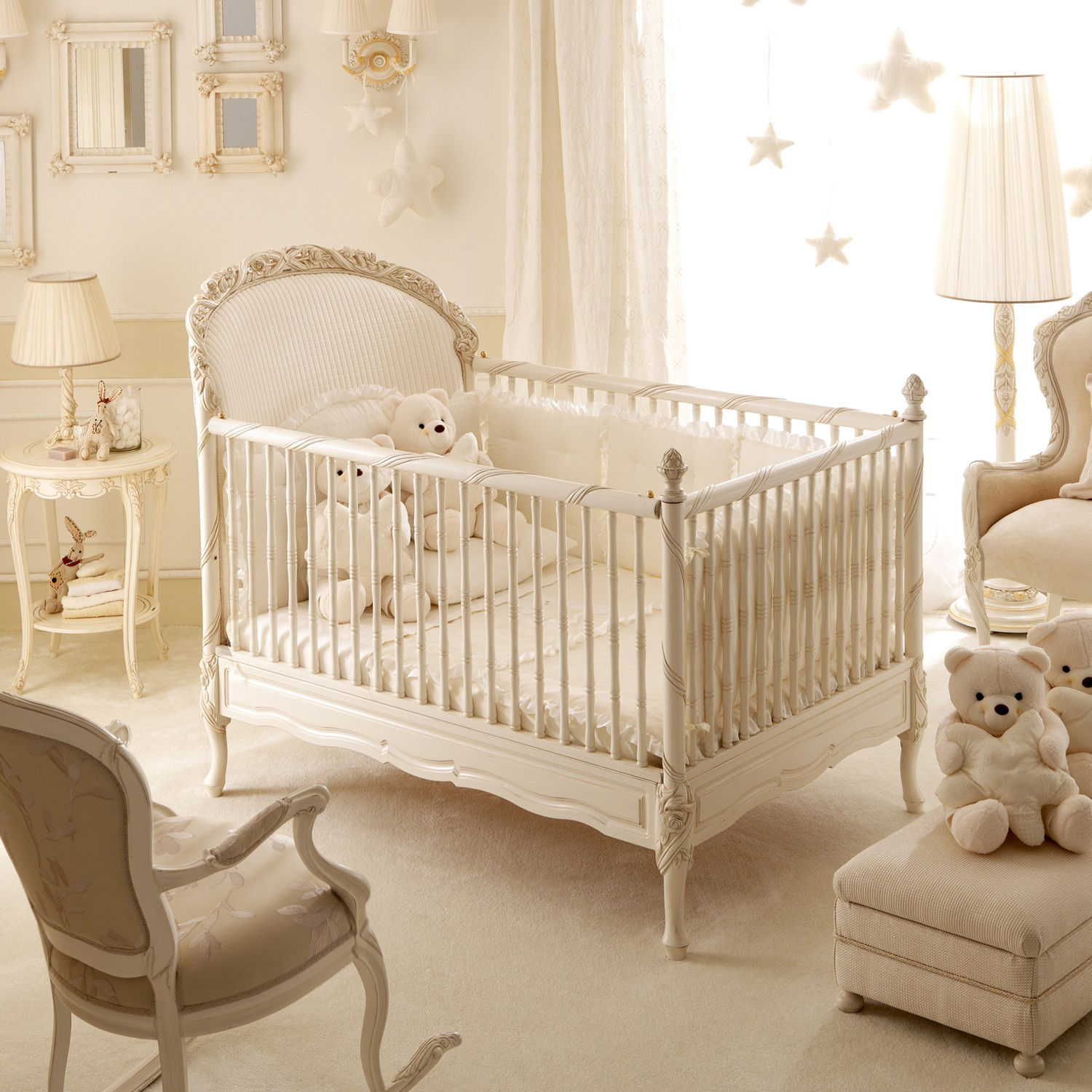 Baby cribs pictures - Notte Fatata Crib From Petit Tresor