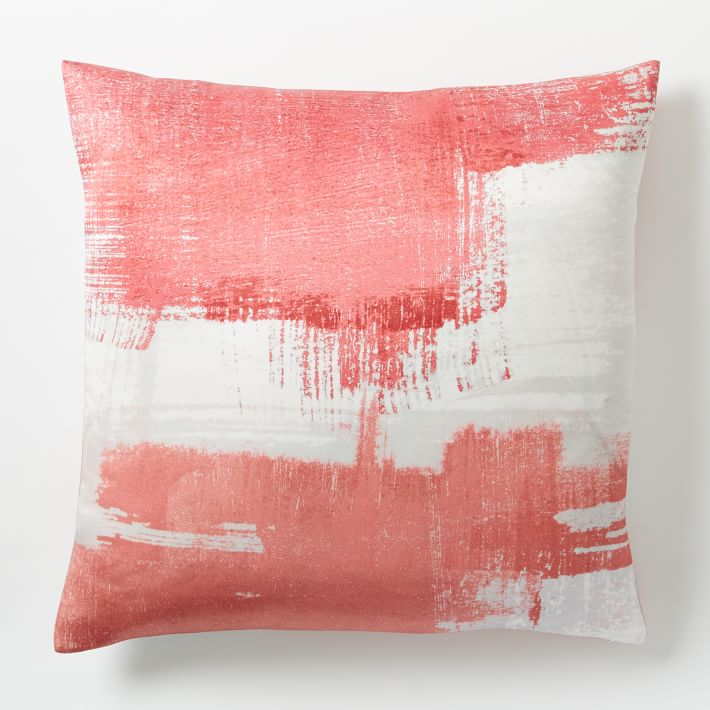 Painterly Texture Pillow Cover from West Elm