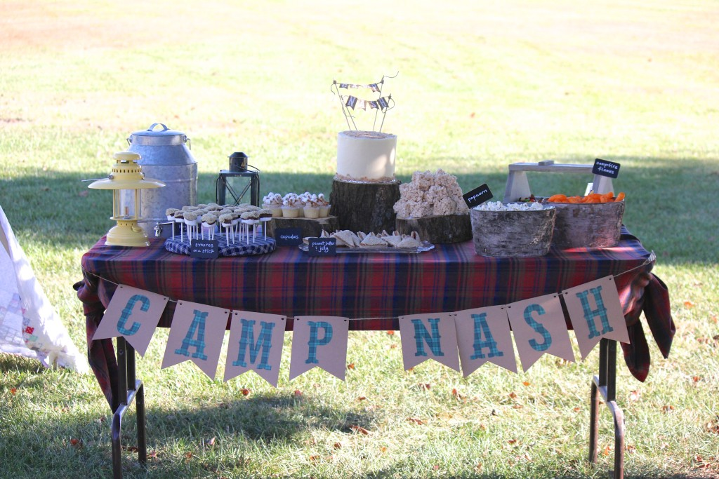 Camping-Themed First Birthday Party - Project Nursery