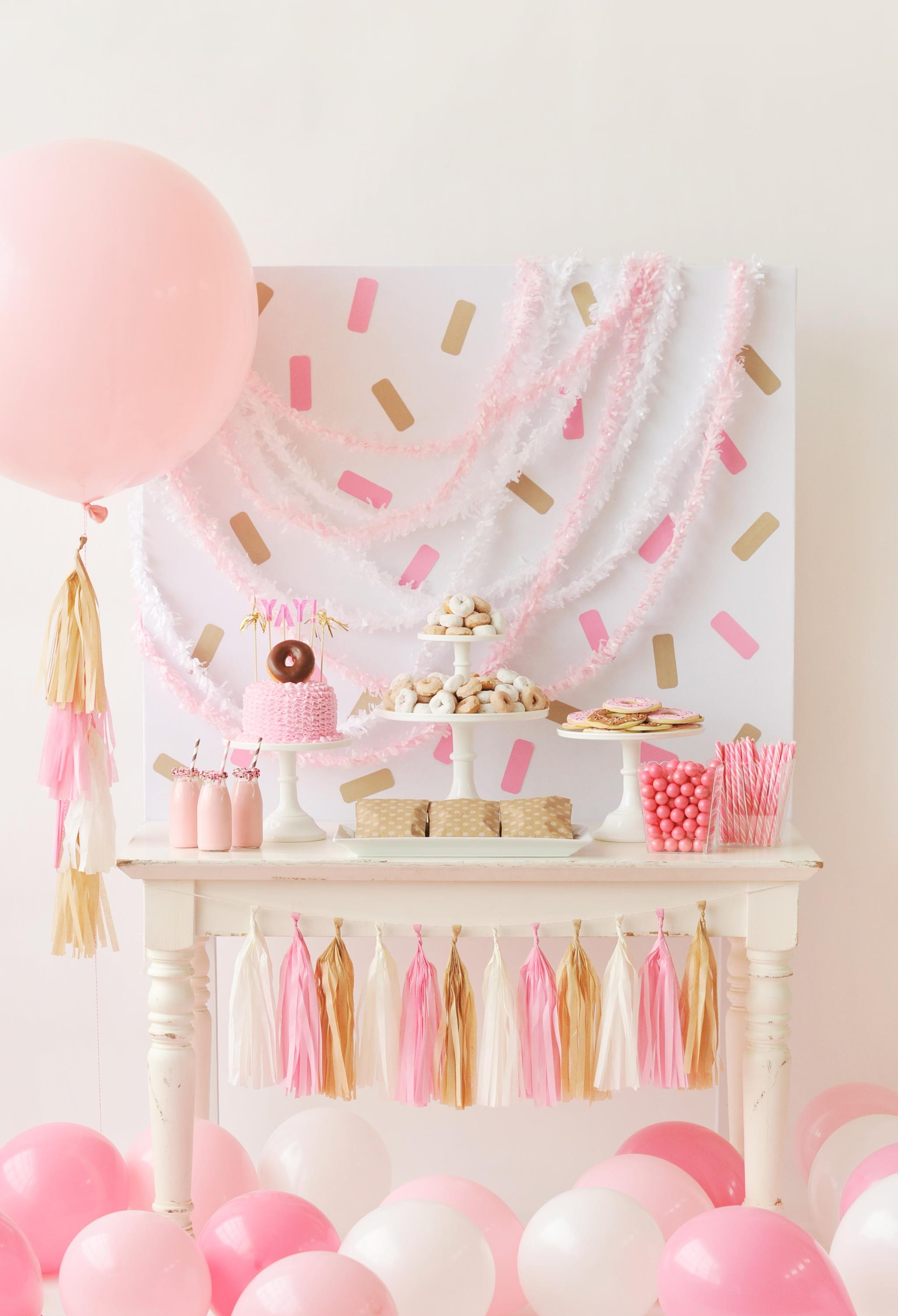 Donut-Themed Kids Party