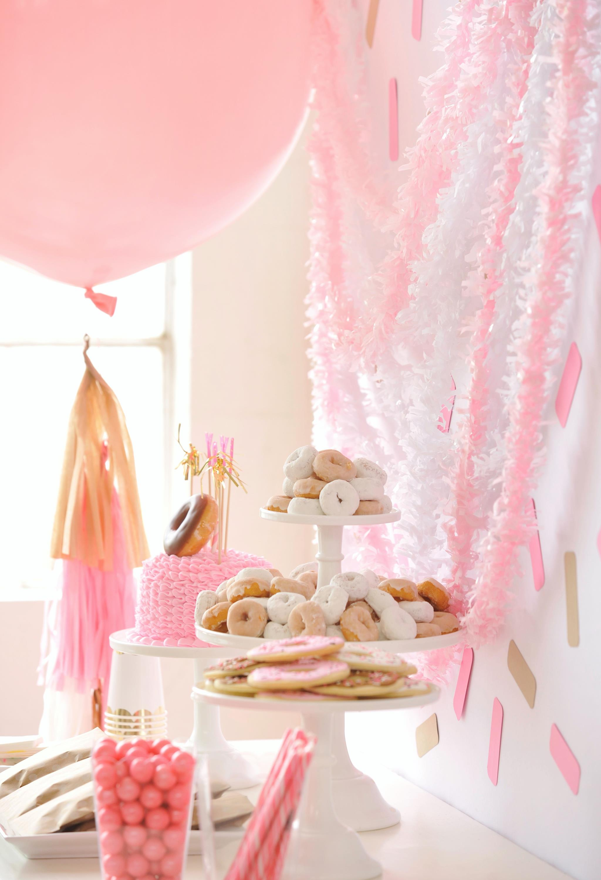 Donut-Themed Kids Party Treats