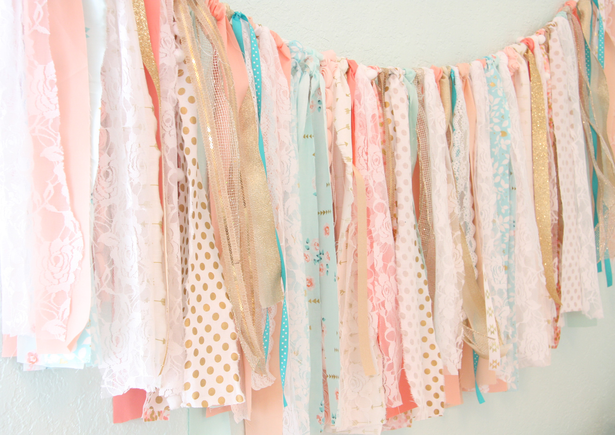 DIY Fabric Garland