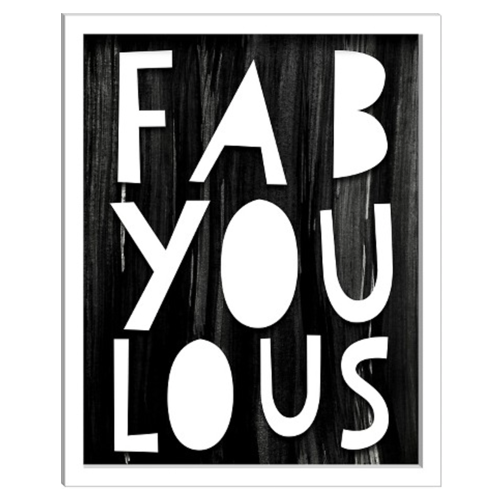 Fab-You-Lous Art Print