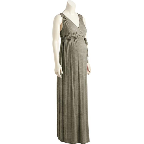 Maternity Cross-Front Maxi Dress from Old Navy