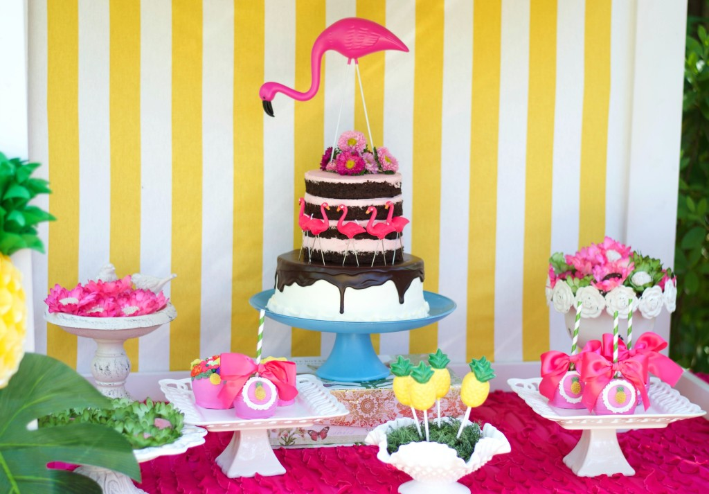 Yellow and Pink Flamingo Birthday Party - Project Nursery