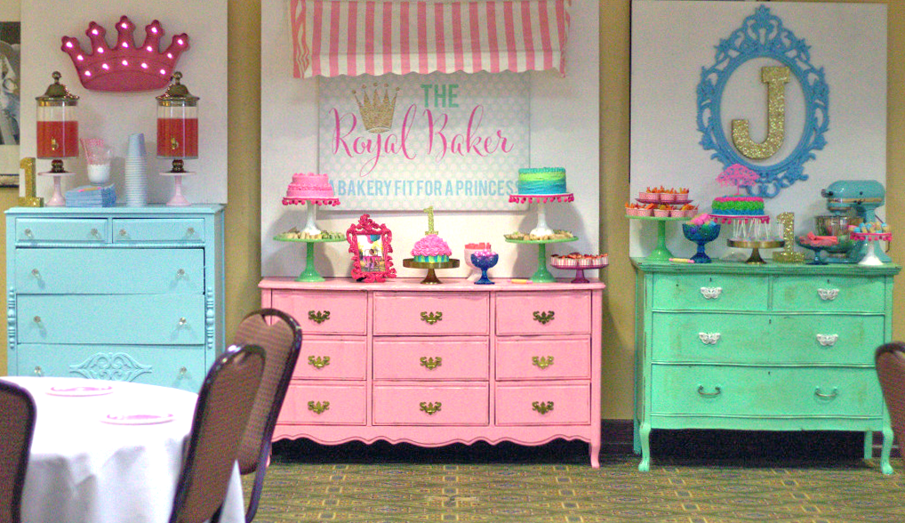 Bakery-Themed First Birthday Party - Project Nursery