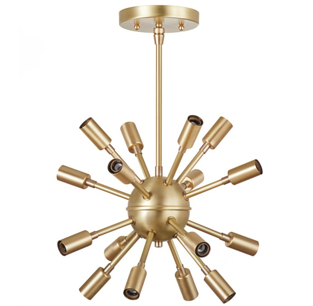 Sputnik Chandelier from The Project Nursery Shop