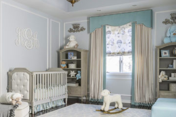 Blue and White Royal Nursery