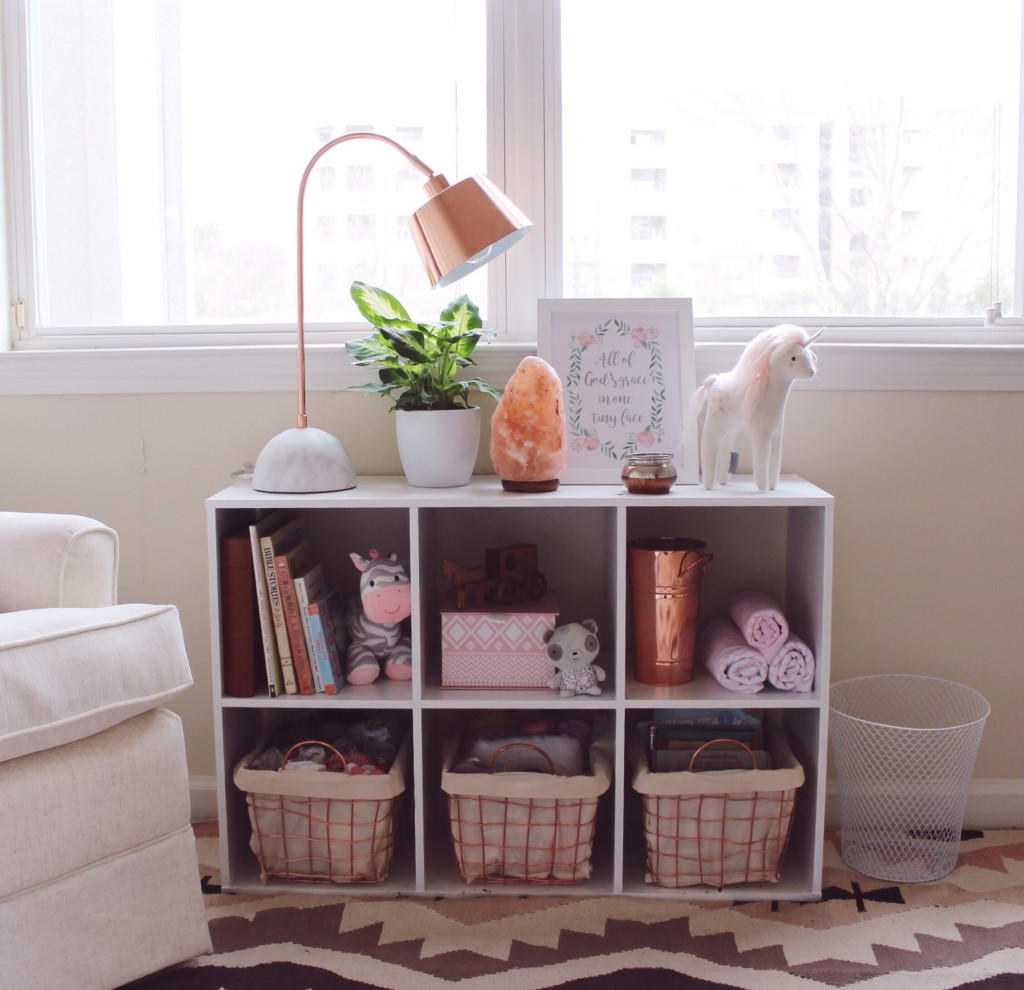 Rose gold nursery decor project nursery for Decoration rose gold