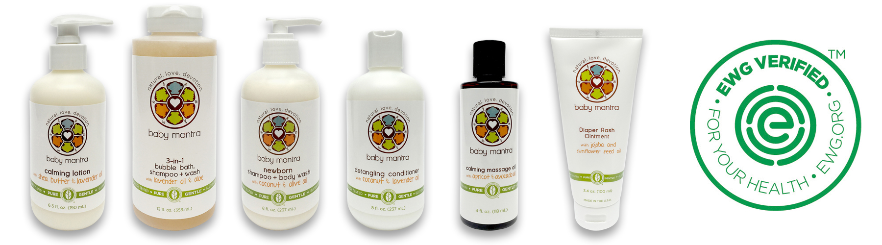 EWG Verified Skin Care Products from Baby Mantra