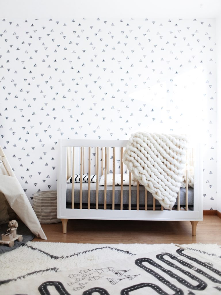 Whimsical Black and White Nursery - Project Nursery