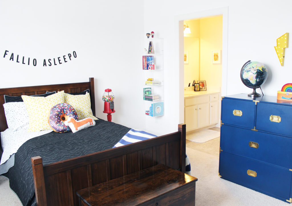 Rainbow / Harry Potter Themed Kid's Bedroom
