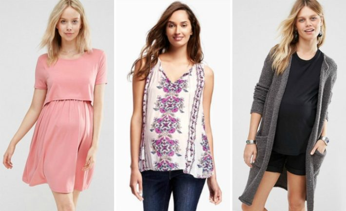 Summer-to-Fall Maternity Styles