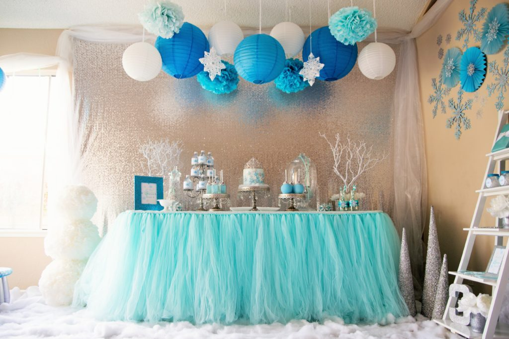 Frozen Birthday Party - Project Nursery