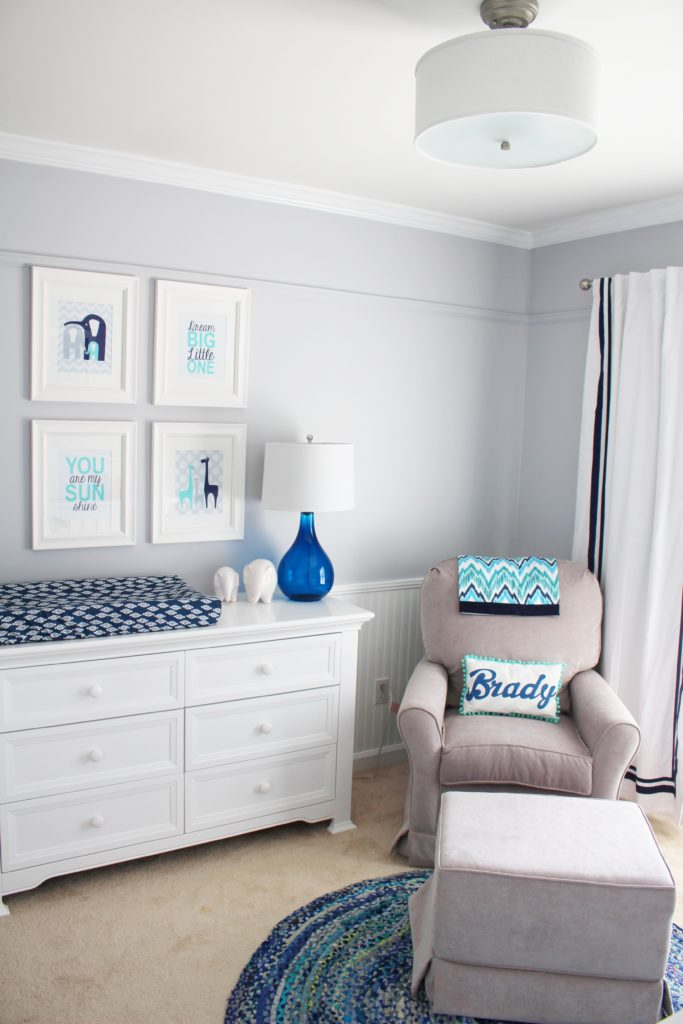 Baby Boy Room Design Pictures: Little Boy Blue Nursery