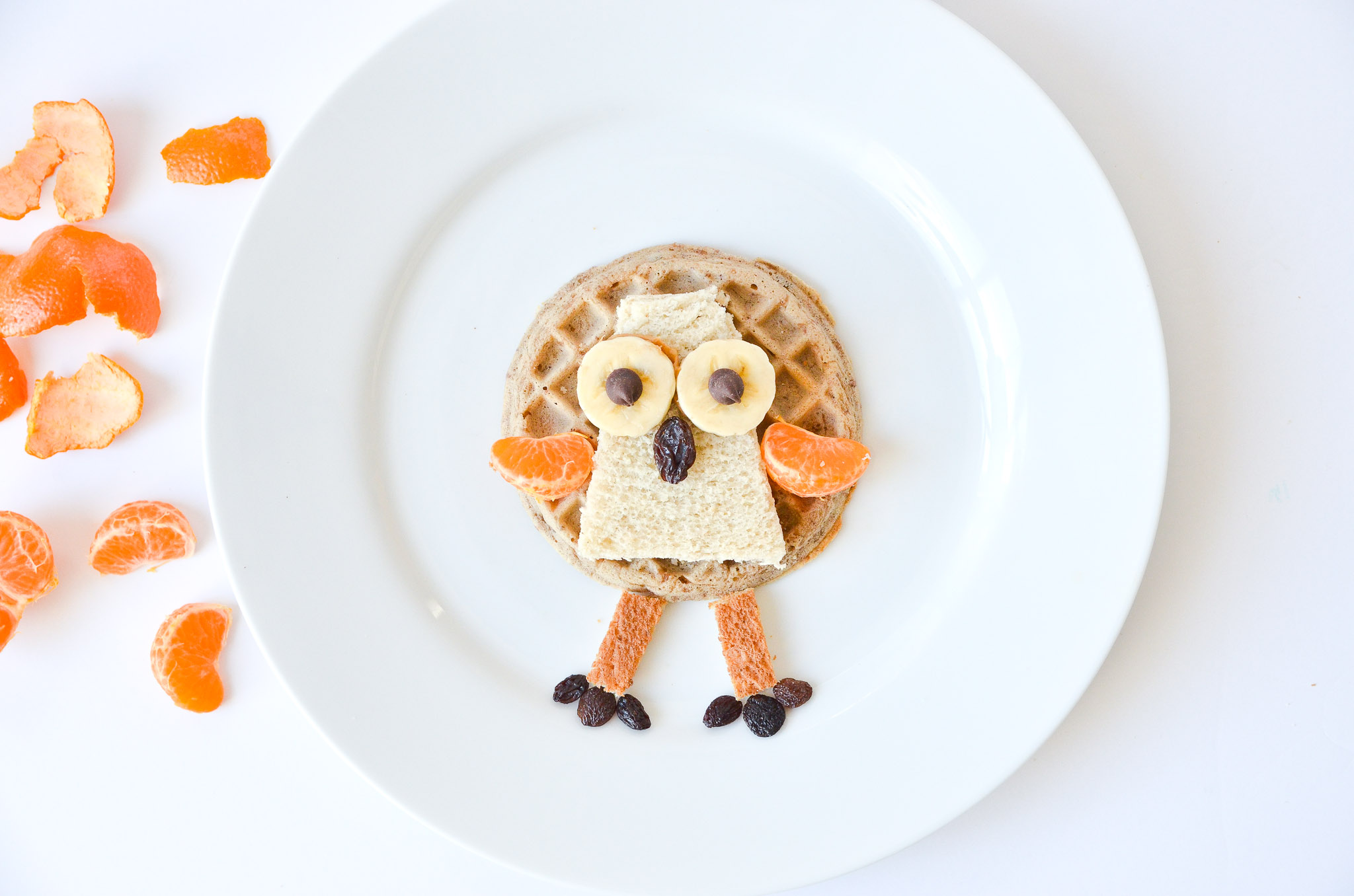 Waffle Turkey Kids Thanksgiving Breakfast