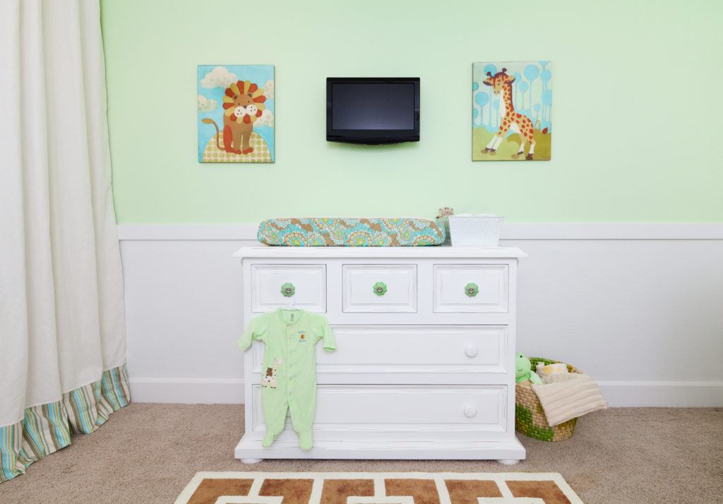 Pale Green Nursery with Gender Neutral Decor