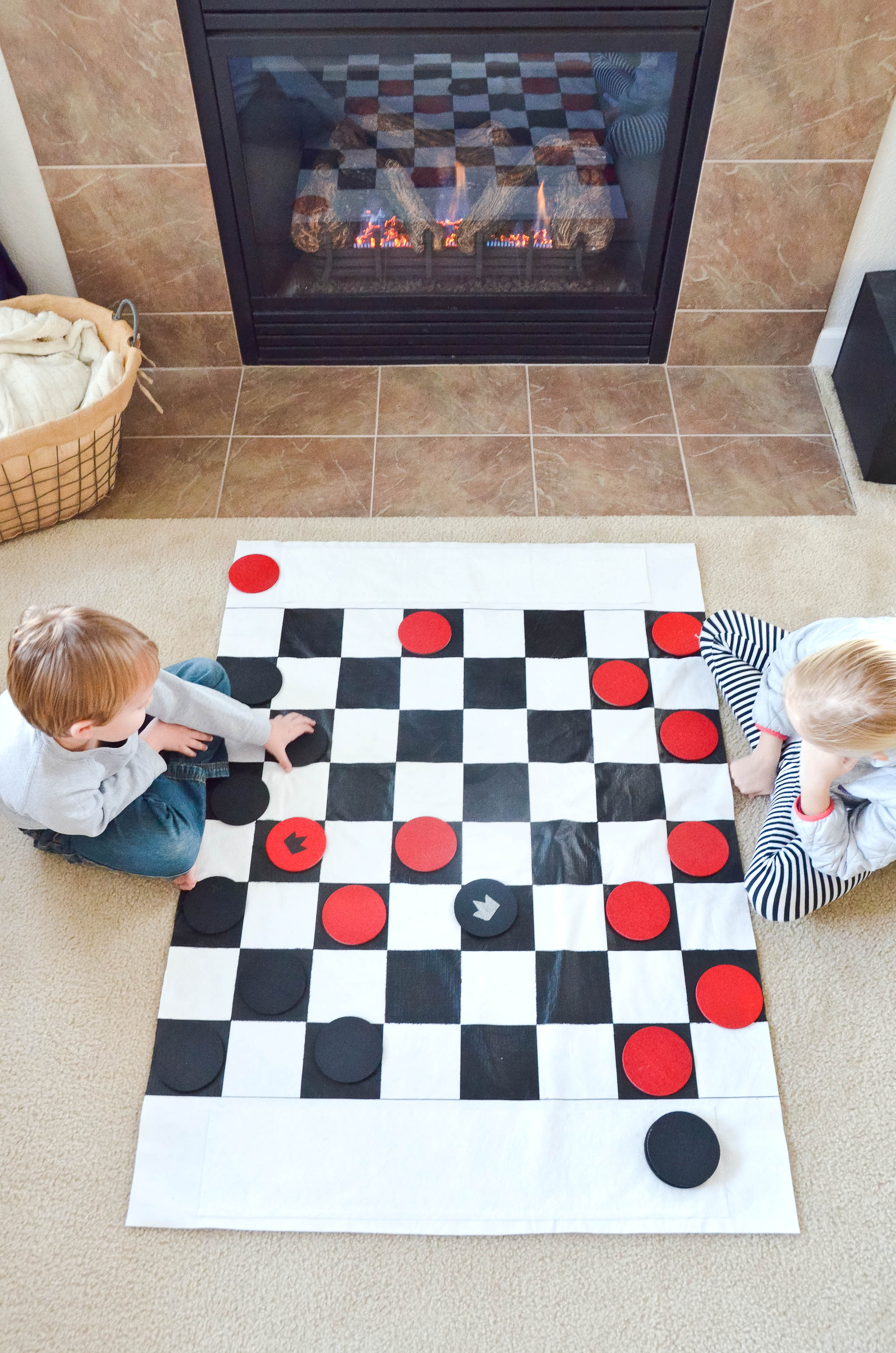 Diy Checkers Set For Kids Project Nursery